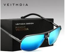 Nueva moda de aluminio magnesio gafas de sol polarizadas hombres recubrimiento espejo de conducción gafas de sol gafas para hombre 6521