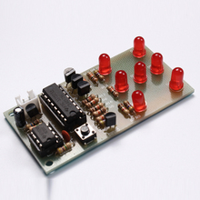 Electronic Dice NE555 CD4017 DIY Kit 5mm Red LEDs 4.5-5V ICSK057A Electronic Fun Kit