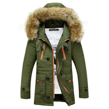 Patchwork Mens Padded Coat Fashion Baseball Jacket Winter Jacket Men Slim Jaqueta Masculina Warm Wadded Packable Sportswear 3XL(China (Mainland))