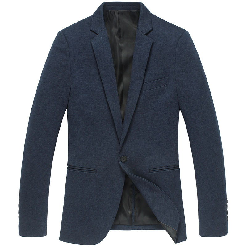 2015 Mens Formal Jackets Blazers Suit Jacket Mens Dress Blazers Stylish Business Suits Navy Blue ...