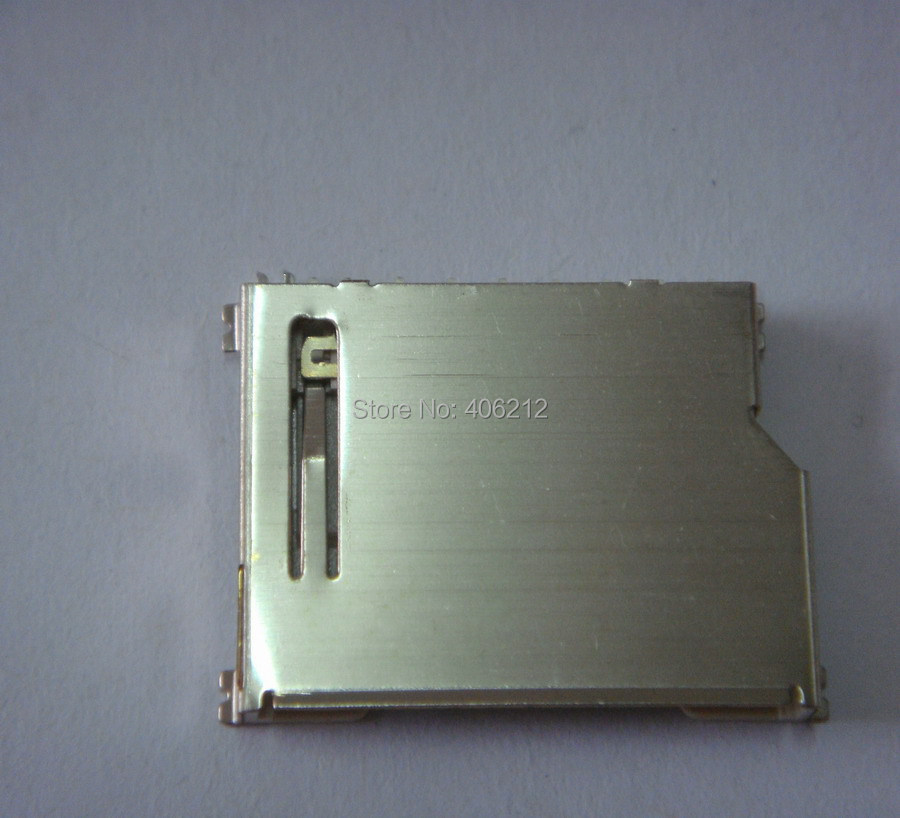 Samples support SD short socket for SD memory card ,copper case ,LCP plastic ,surface mount ,40pcs/lot(China (Mainland))