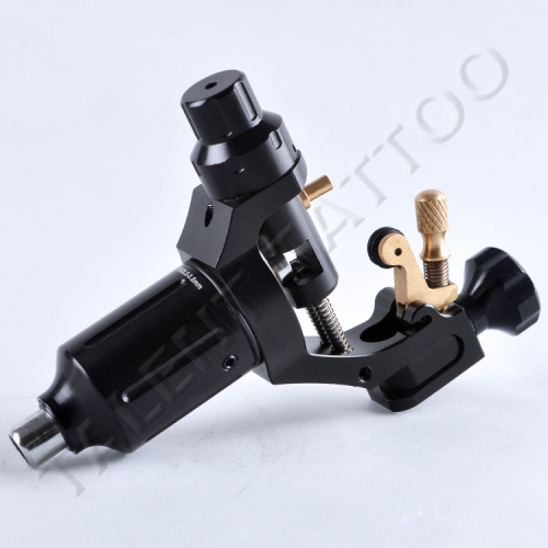 1PC BLACK, Pro Johnny Rotary Tattoo Machines #MR100, Wholesale Price Tattoo Guns, Swiss Motor, Free Shipping(China (Mainland))