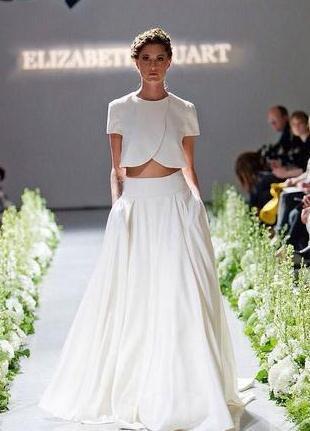 Plus Size Wedding Dresses Two Piece 42