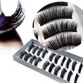 10 Pairs Beauty Thick Makeup False Eyelashes Long Black Nautral Handmade Fake Eye Lashes Extension Falsche
