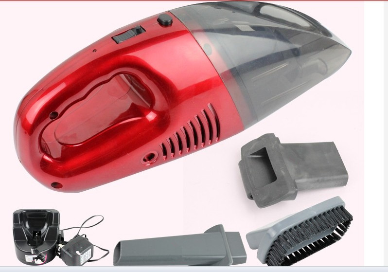 Free shipping household use portable dry wet amphibious rechargeable wireless vacuum cleaner for home aspirador de po wholesale(China (Mainland))