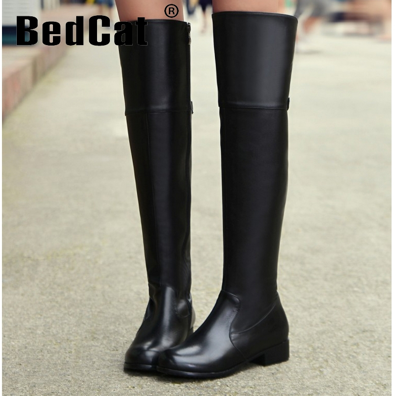 women falt over knee boots riding winter snow warm bota fashion masculina boot footwear feminina quality shoes P20574 size 34-42<br><br>Aliexpress