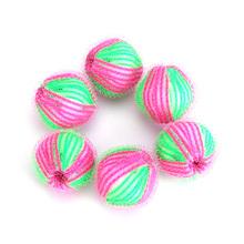 6pcs/pack Magic Hair Removal Laundry Ball Clothes Personal Care Hair Ball Washing Machine Ball Cleaning Ball  JJ2130806(China (Mainland))