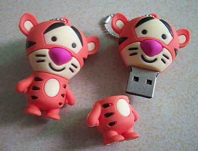 100% real capacity animals lovely tiger king pen drive 5% off 4GB 8GB 16GB 32GB pen drive best quality usb flash drive S310(China (Mainland))