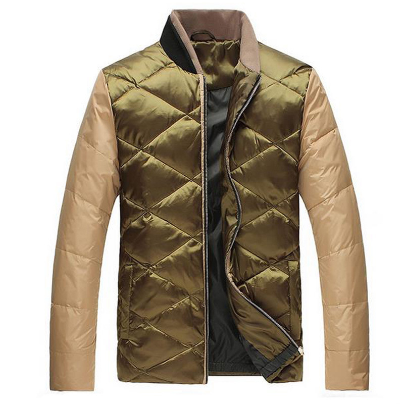 Jeansian Men s Winter Fashion Clothes Casual Collar Down Jacket XL XXL XXXL 4XL 2 Colors