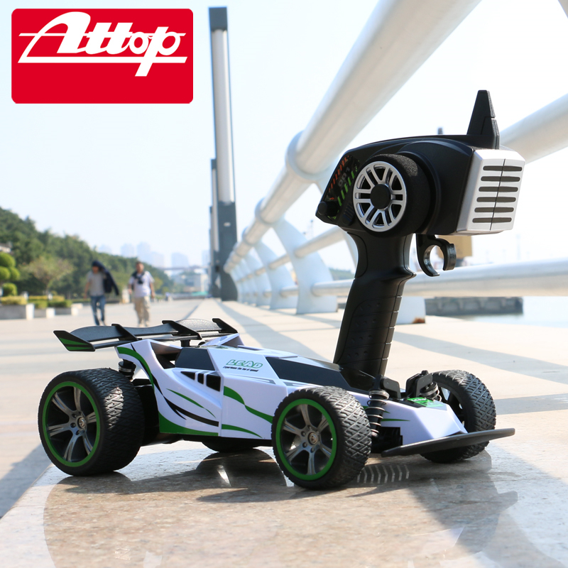 Attop 001 Super Formula RC Racing Car Remote Control 2.4G 4CH 1/18 Model Electric RC Car High Speed Rubber Kid Toy #E