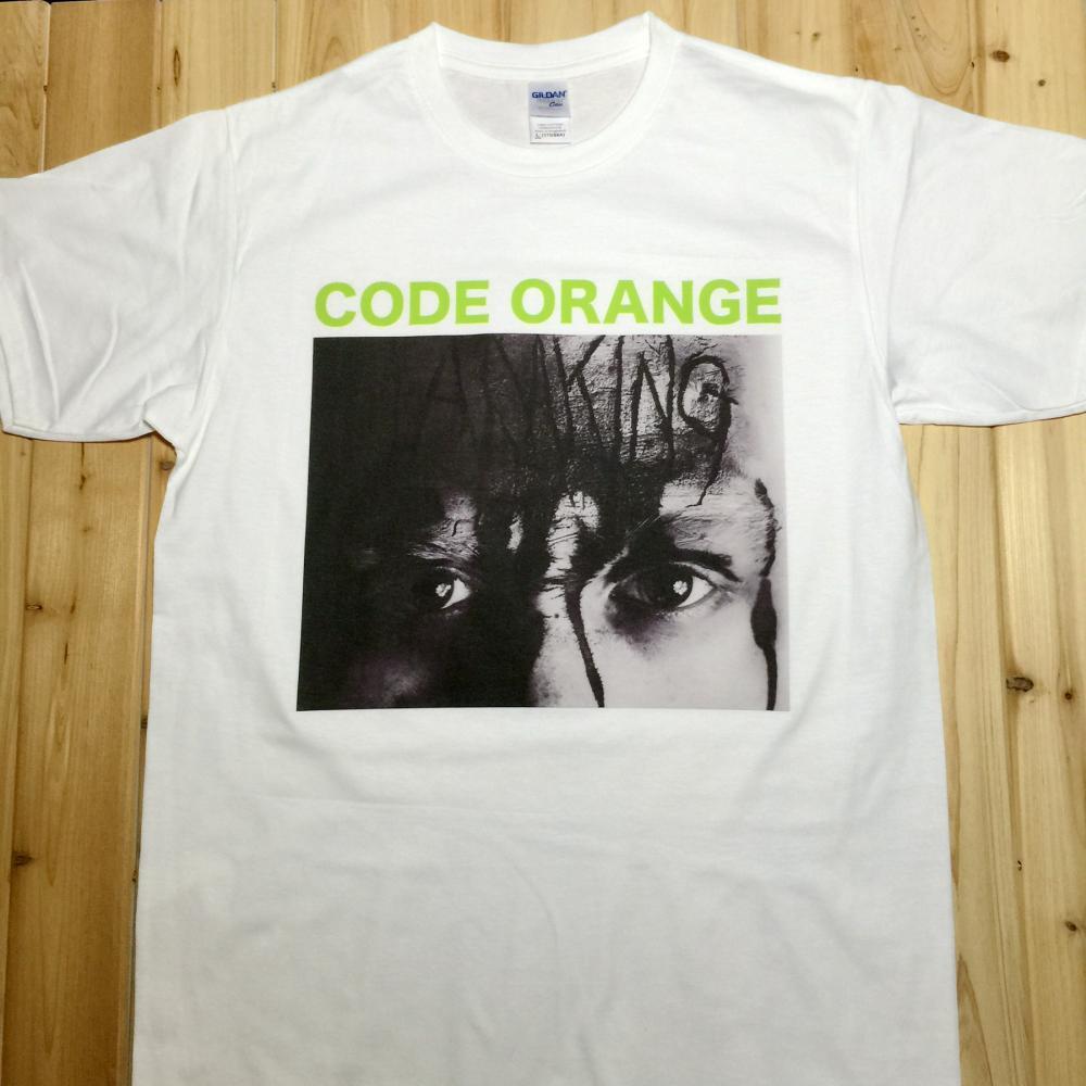 Code Orange I Am King Rock Music Band CD T-Shirts Unisex CO1(China (Mainland))