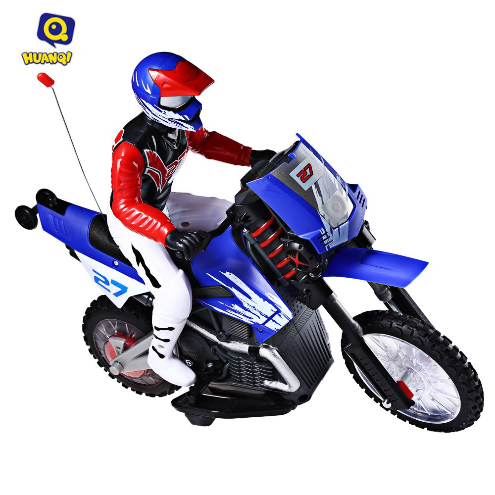 HOT Sale Huanqi 528 35MHz Motor Off-road Radio Control RC Motorcycle With Stunt Function Kids High Speed Racing Motorcycle Toy(China (Mainland))