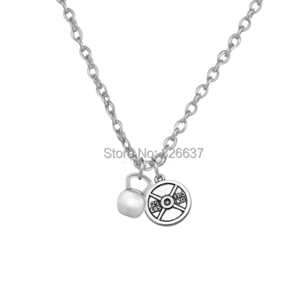 Packing By Opp Bag Fashion Pendants Necklace, 25 LBS 11.3 KG Weight Kettlebell<br><br>Aliexpress