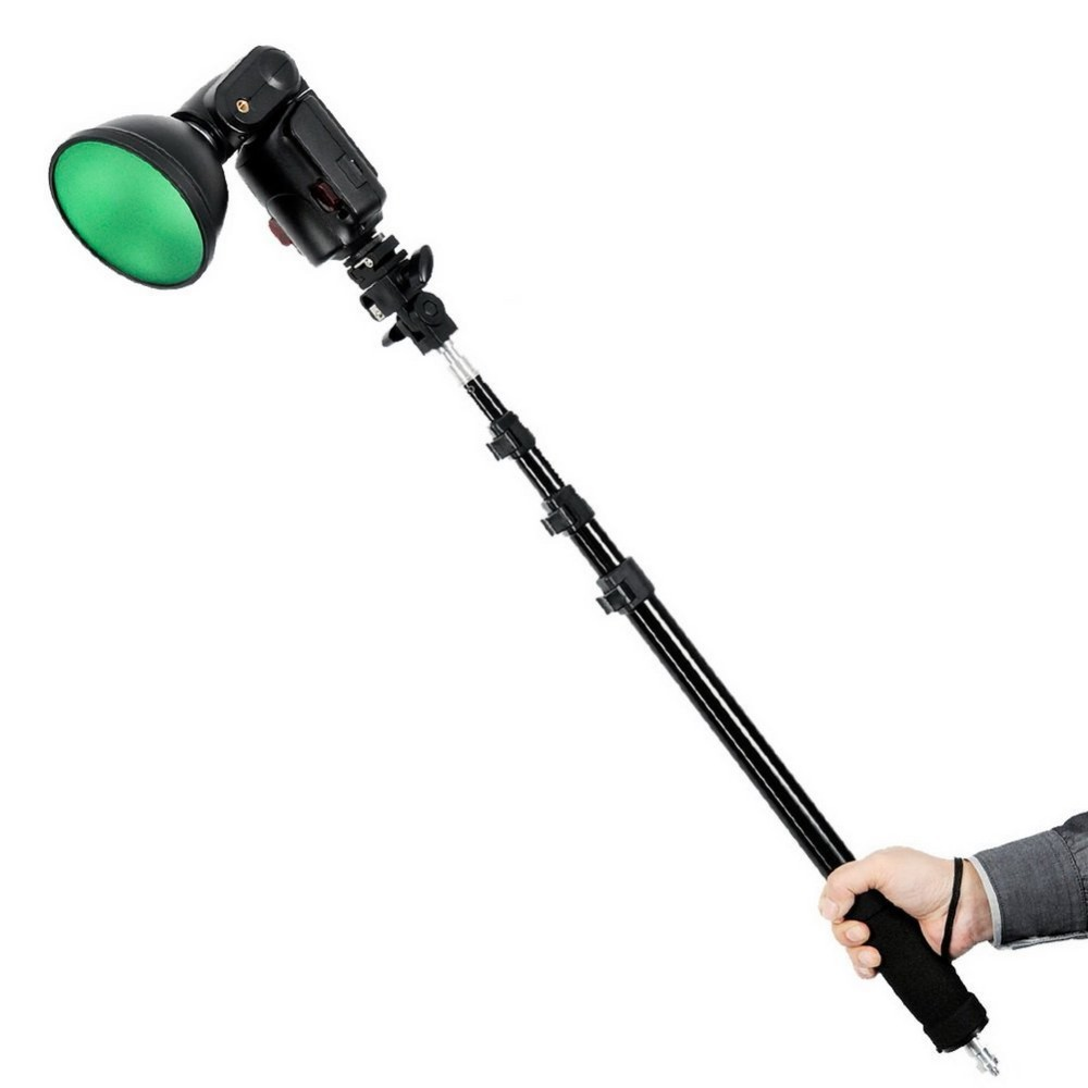 GODOX AD-S13 Four Sections Stretchable Portable Light Boom Pole Stick 1/4
