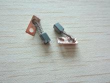 3 x 3 x 4 mm Electric Motor Carbon Brushes Micromotor para el maratón fuerte 204 / Micromotor Marathon Strong 90 / reemplazo cepillos