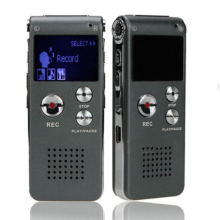 Professional Mini Rechargeable Dictaphone gravador de voz Caneta 8GB Activated USB Digital Audio Voice Recorder Pen MP3 Player(China (Mainland))
