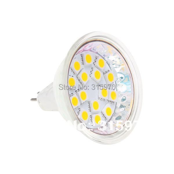 15Led MR16 5050 5060 SMD Spot Light Bulb 12VDC G4 Base 10pcs/lot MR16 Halogen Bulb Replacement Dimmable LED bulb(Hong Kong)