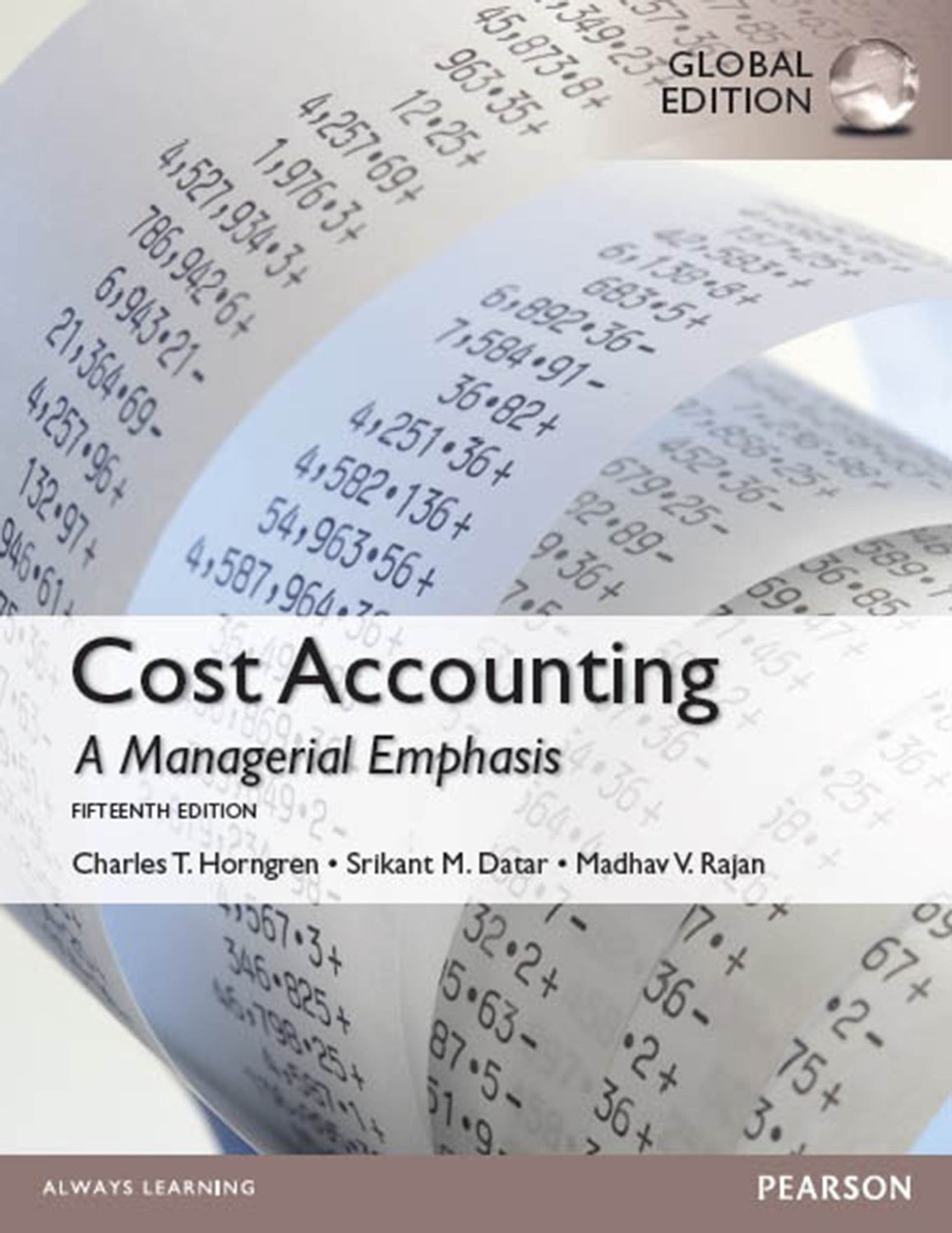 solution manual cost accounting managerial emphasis Read and download cost accounting a managerial emphasis 14th edition solution manual free ebooks in pdf format cost accounting cost accounting cost accounting cost.