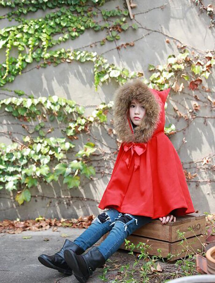 Скидки на 2016 новый зима Корейской Принцессой настоящие волосы клип хлопок Бархатный Плащ пальто воротник куртки nubao с бесплатной доставкой