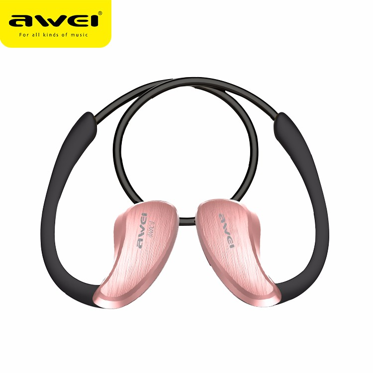 Awei A885BL For xiaomi NFC HiFI Waterproof Wireless Bluetooth Headset V4.1 Earphones Music Voice control In ear Earbuds with Mic