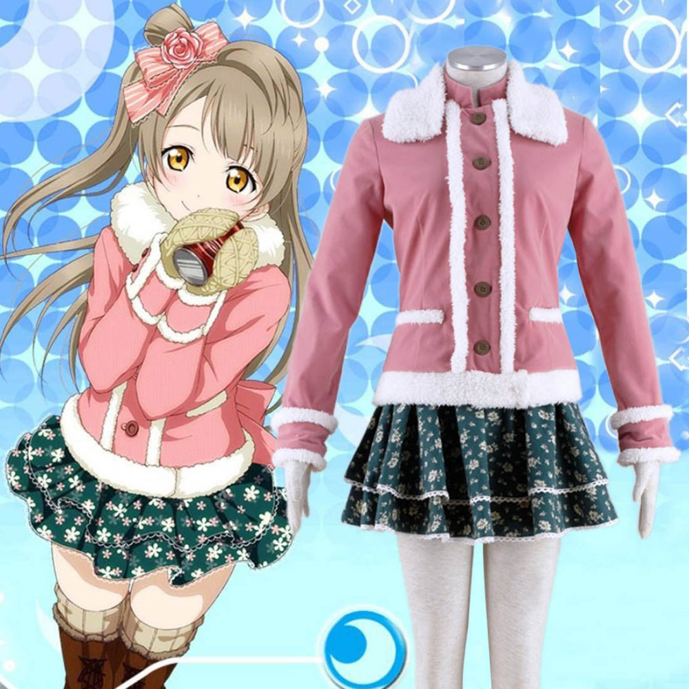 Love Live! School Idol Project Love Live Cosplay kotori minami Cosplay Costume Casual Winter Lolita Outfit XS-XXXL AvailableОдежда и ак�е��уары<br><br><br>Aliexpress