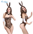 1pcs Women Sexy Lingerie Bikini Leopard Dress Evening Sexy Sleepwear Nightgown Sexy Uniform Costume Backless Women