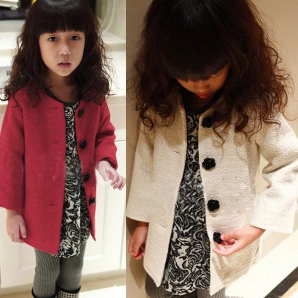 Шерстяная одежда для девочек Unbrand Dropshipping XL684