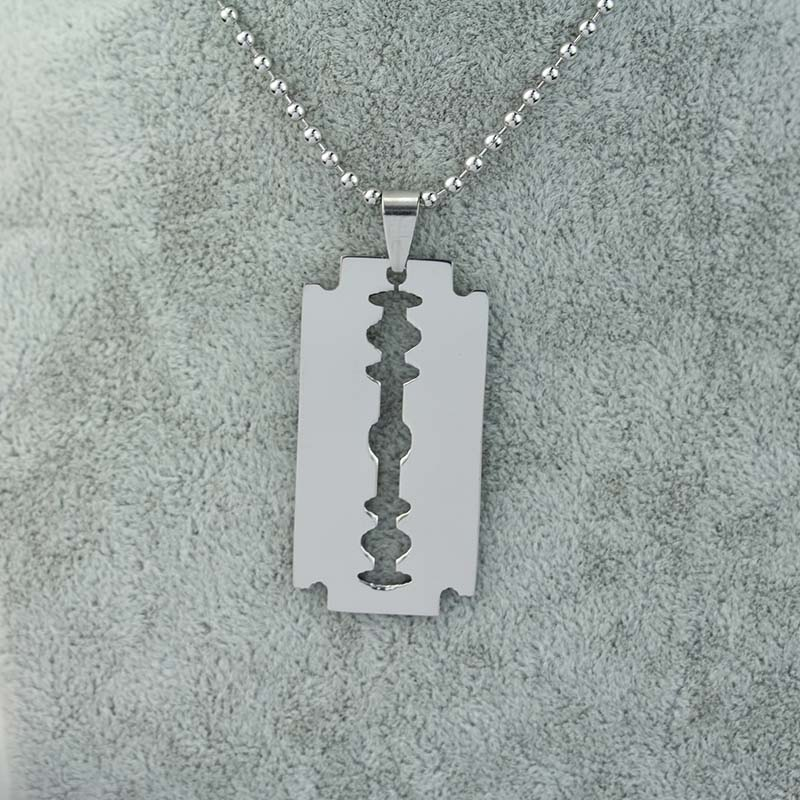 PICK YOUR Blade Army Style Dog Tag Silver Stainless Steel Necklace Brand New(China (Mainland))