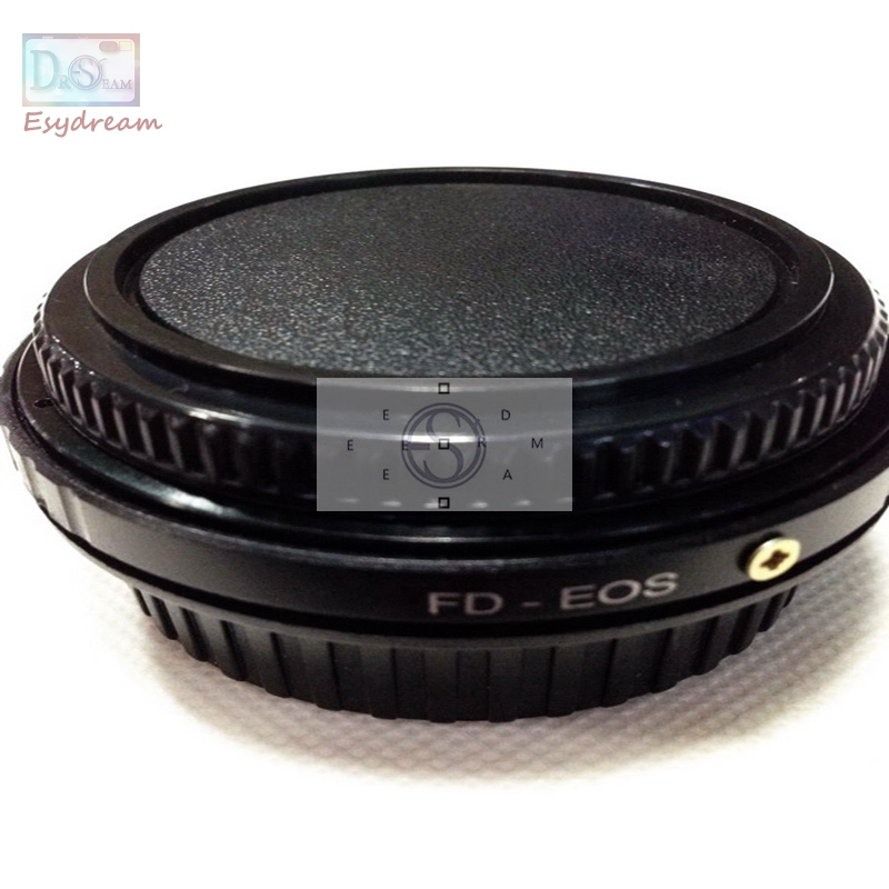 Lens Mount Adapter Ring FD-EOS Canon FD Lens & EOS Camera Body