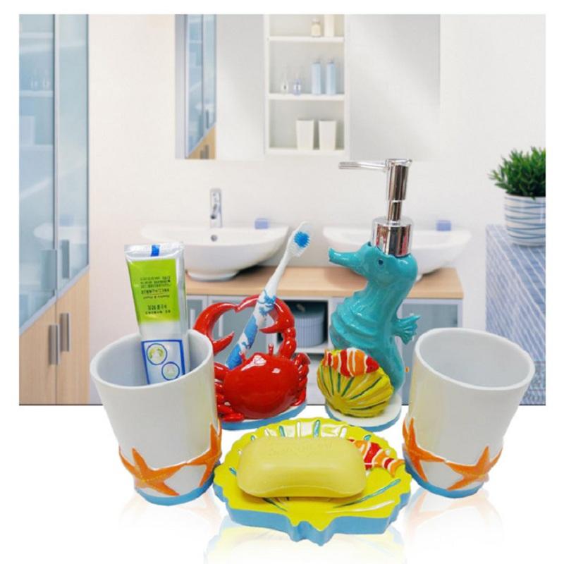 kid bathroom accessories sets,