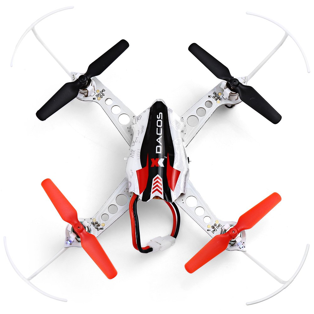 XK X100 2.4GHz 6 Channel 6 Axis Gyro Quadcopter Support FUTABA S - FHSS Control RTF Mini quadcopter RTF RC helicopter Kids Toys(China (Mainland))