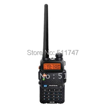 free shipping Baofeng UV-5R dual band UHF&VHF transceiver FM radio  walkie talkie free earpiece