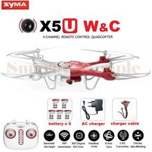 SYMA X5UW и X5UC FPV RC Летательный Аппарат С 720 P Wi-Fi 2-МЕГАПИКСЕЛЬНАЯ HD камера 2.4 Г 4CH 6 Ось Quadcopter Вертолет Высота Hold One Key Земли Дрон(China (Mainland))