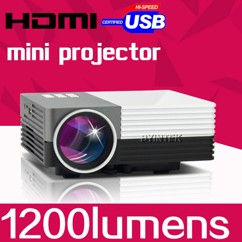 1080P Home Theater Video Game LCD uC401200lumens gM50Digital Cinema HDMI Portable pICo 1080P Mini LED HD Projector Proyector USB(China (Mainland))