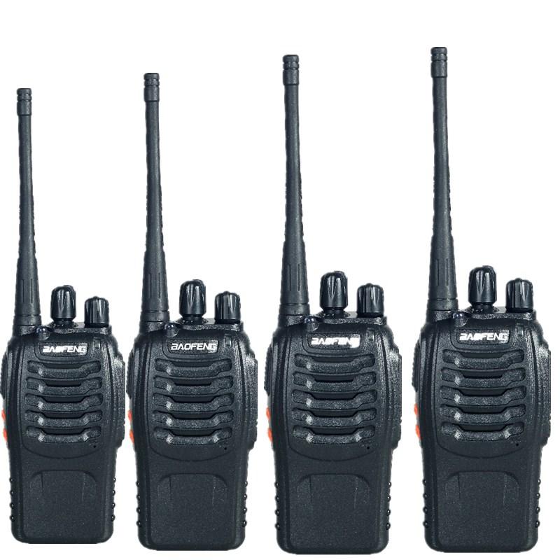 4PCS Baofeng BF-888S Walkie Talkie Dual Band Two Way Radio 5W Handheld Pofung bf 888s 400-470MHz UHF radio scanner(China (Mainland))