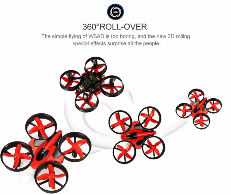 New Avatar Mini RC Drone 2.4G 4CH 6-Axis 3D Headless Mode Memory Function RC Nano Quadcopter Cool Tiny Gift Boy Kids Toys