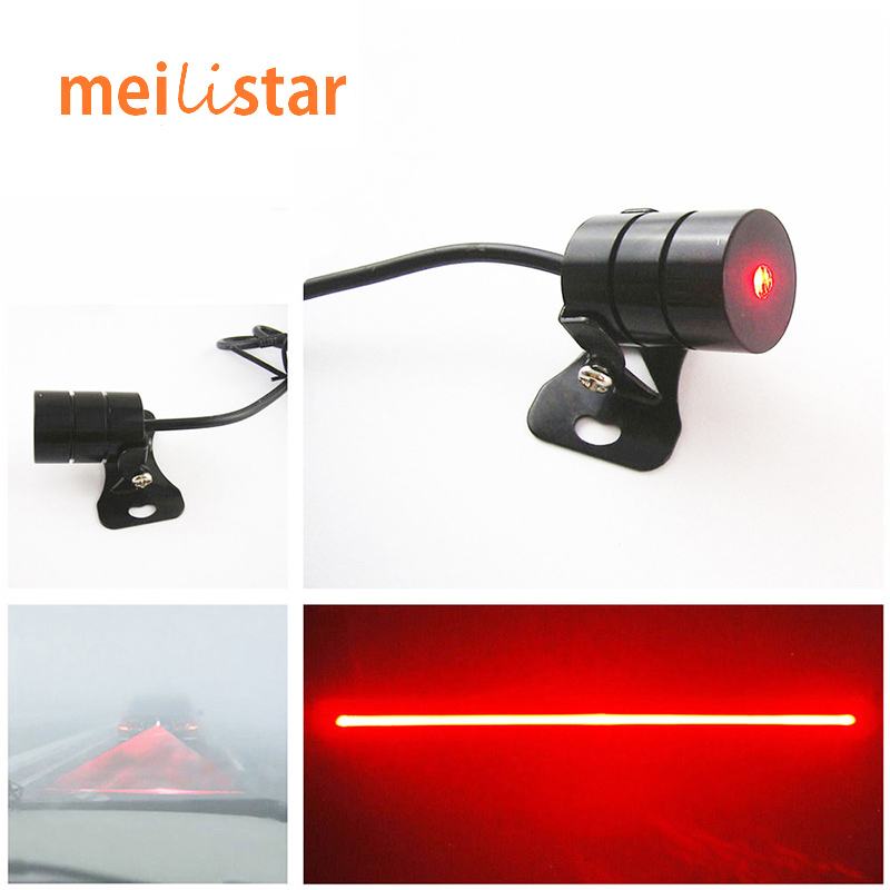 Anti Collision Car Laser Tail 12v led Fog Lights Auto Brake Parking Car-Styling Warning Lights Car Styling Accessories For Ford(China (Mainland))
