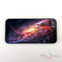 Space Stars Universe Astronomy back skins mobile cellphone cases for iphone 4/4s 5/5s 5c SE 6/6s plus ipod touch 4/5/6