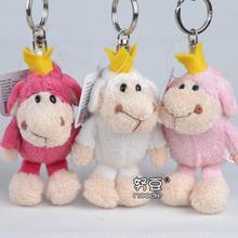 Super cute 10pcs 10cm NICI novelty forest animal plush little doll bag keychain pendant stuffed toy children baby gift