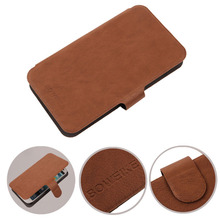 Dropshipping Protection Accessory Mobile Phone Cover Flip PU Leather Case For HTC Desire SV T326E In Stock