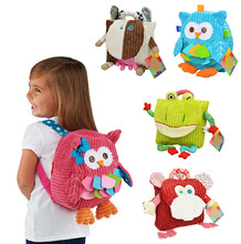 5 Styles Children backpack bag kindergarten girls boys cute cartoon toys kid School Bags(China (Mainland))