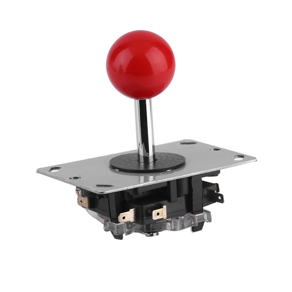 2016 Hot Arcade joystick DIY Joystick Red Ball 4/8 Way Joystick Fighting Stick Parts for Game Arcade free shipping(China (Mainland))