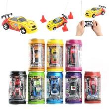 Coke Can Mini Speed RC Radio Remote Control Micro Racing Car Toy Gift(China (Mainland))