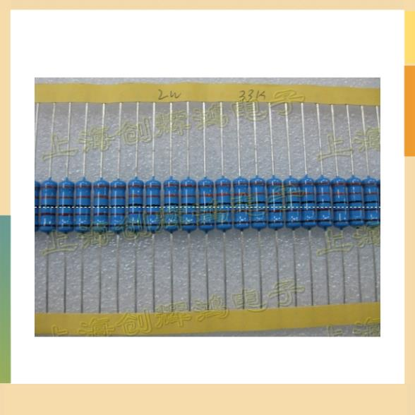 2W precision metal film resistors 33K 1K 10K 100K 1M 1R 510R 50 Zhi starting(China (Mainland))