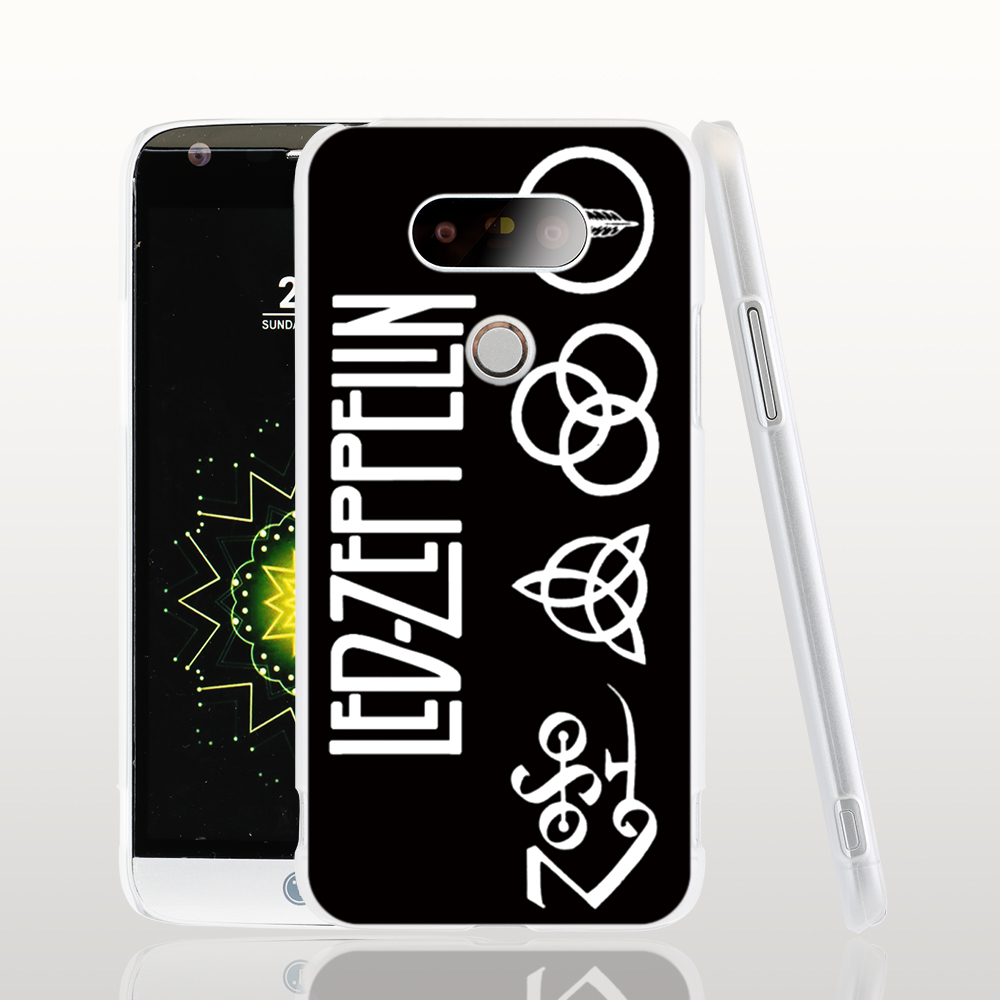 12236 Led Zeppelin cell phone protective case cover for LG G5 G4 G3 K10 K7 Spirit magna(China (Mainland))