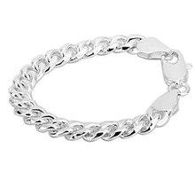 Free shipping,925 silver jewelry Bracelet ,10M sideways bracelet, fashion jewelry Bracelet wholesale price! S184(China (Mainland))