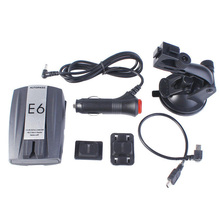 New E6 Car Speed Laser GPS 360 Full angle Voice Alert Electronic Dog Radar Detector E#A(China (Mainland))