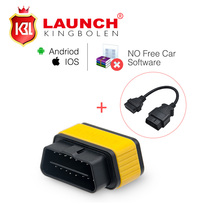 Launch X431 Easydiag 2.0 Diagnostic Tool Original Easy diag for Android/IOS 2in1 Update Online+OBD16pin extension Free Shipping(China (Mainland))