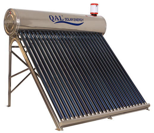 Stainless steel unpressurized solar water heater (bg24 solar collector)(China (Mainland))