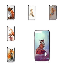 Case Cover watercolor fox Huawei P7 P8 P9 mini Honor V8 3C 4C 5C 6 Mate 7 8 Plus Lite 5X Nexus 6P - My Phone Cases Factory store